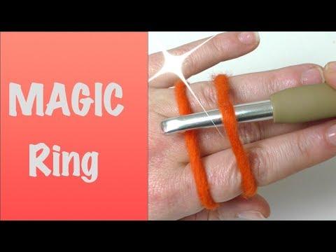 Super einfach! Magischer Ring | Fadenring häkeln | Magic ring
