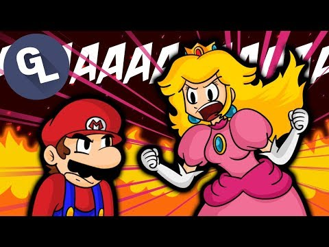 When Mario Is Sick of Peach