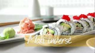Maki inversé (California roll)