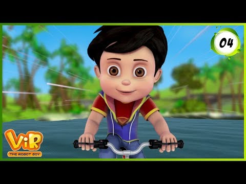 Video Vir: The Robot Boy | The Mask of Vir | Action Show for Kids | 3D cartoons download in MP3, 3GP, MP4, WEBM, AVI, FLV January 2017