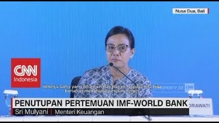 Video Penutupan Pertemuan IMF-World Bank, Menkeu Sentil Negara Maju MP3, 3GP, MP4, WEBM, AVI, FLV Oktober 2018