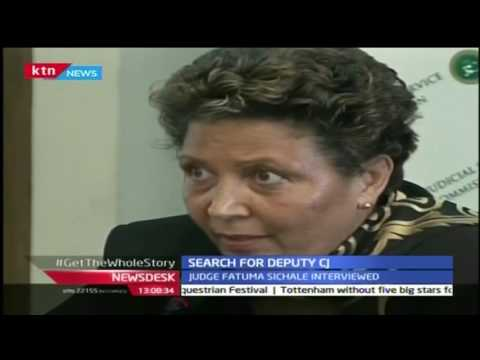 NewsDesk: Court of Appeal Judges Fatuma Sichale and Hannah Okwengu interviewed by the the JSC