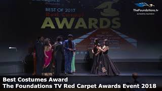 Boston Kalakshetra wins The Foundations TV Best Costumes Award