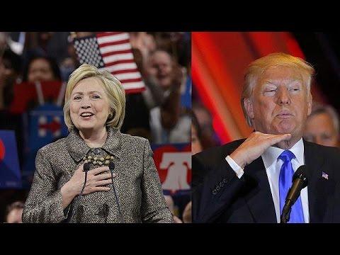 ΗΠΑ: Σαρωτικός Τραμπ-Πειστική Χίλαρι