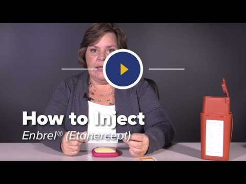 How to Inject Enbrel (etanercept)