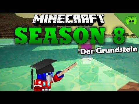 DER GRUNDSTEIN «» Minecraft Season 8 # 22 | HD