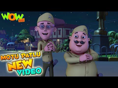 Motu Patlu | Funny Scenes | New videos | Wow Kidz |  Compilation 02
