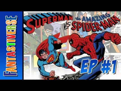 Superman Vs. The Amazing Spider-Man - Clash Of The Comic Book Icons