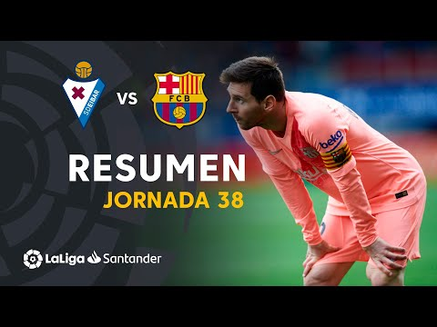 Resumen de SD Eibar vs FC Barcelona (2-2)