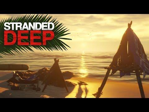 ESTABLISHING CAMP! Stranded Deep Episode 1