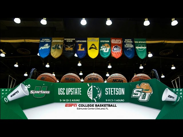 2018 College Hoops: South Carolina Upstate vs Stetson   Open