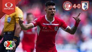 Video Resumen Toluca 4 - 0 Querétaro | Apertura 2018 - Jornada 14 | Televisa Deportes MP3, 3GP, MP4, WEBM, AVI, FLV April 2019