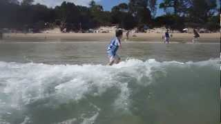 Scotts Head Australia  City new picture : Worlds Youngest Surfer - Kai Fallon surfing Scotts Head, NSW