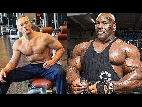 Jean Claude Van Damme vs Mike Tyson Transformation ★ 2018