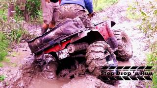 3. ATV Mudding 4x4 Yamaha Kodiak 400 Quad