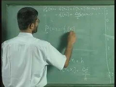 Vorlesung 25 - Numerische Ableitungen