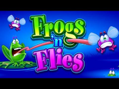 Frogs n Flies online slots pokies game - Free Play Preview