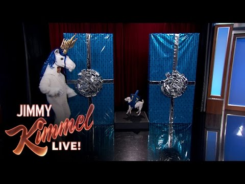 hanukkah - Jimmy meets Hanu-corn, the Hanukkah unicorn who spreads Hanukkah cheer at this most special time of year. SUBSCRIBE to get the latest #KIMMEL: http://bit.ly/JKLSubscribe Watch the latest...