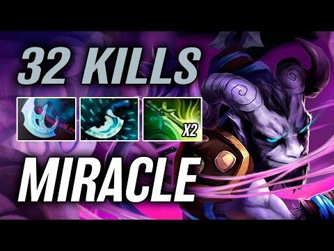 Miracle • Riki • 32 kills — Pro MMR