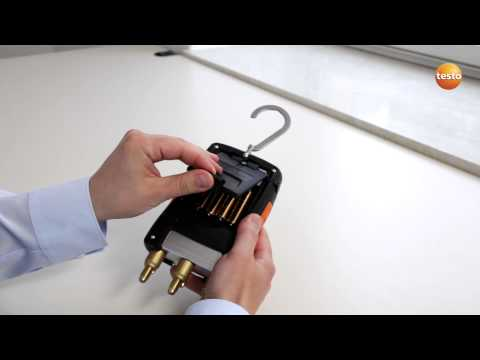 testo 550 Refrigeration Manifold - Step 1 - How To Start The