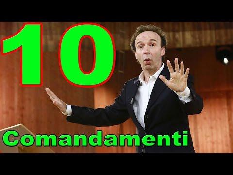 benigni - i dieci comandamenti show in tv - news e anticipazioni