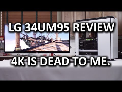 Widescreen - I thought I cared about 4K... And for a while I truly did. Now I have this, and I don't remember why 4K ever mattered... Welcome to my review of the LG 34UM95. Sponsor link: http://linustechtips.c...