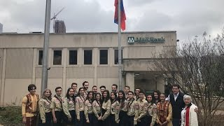 Armenian Flag raising ceremony at the town Fort Lee, NJ