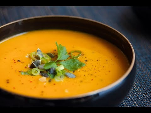 CARROT SOUP - Elsie shows you how to make a Simple, Healthy carrot soup
