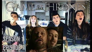 Game Of Thrones   1x7 You Win Or You Die   Group Reaction