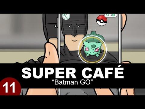 Superman and Batman Discuss Pok mon GO Over