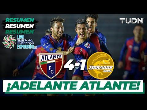Resumen y goles | Atlante 4-1 Dorados | Liga Expansión 2020 - J12 | TUDN