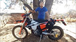 5. Lowering a 2017/2018 KTM 250 EXC F 3 inches