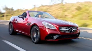 First things first: The Mercedes-Benz SLC is what we used to call the SLK; blame the Mercedes nomenclature realignment strategy for the new badge. However, credit the company's AMG division for the real news: the introduction of the Mercedes-AMG SLC43.For the latest Mercedes-Benz SLC pricing and information:https://www.kbb.com/mercedes-benz/slc/2017/ Kelley Blue Book is your source for new car reviews, auto show coverage, features, and comparison tests. Subscribe to catch all the latest Kelley Blue Book videos. http://www.youtube.com/subscription_center?add_user=kbb