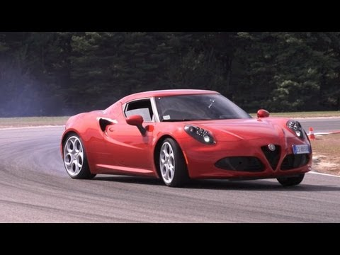 Alfa Romeo 4C First Drive, Road and Track. -- /CHRIS HARRIS ON CARS