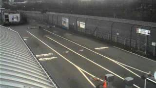 Nurburgring Gate Webcam Timelapse February 5, 2011