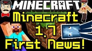 Minecraft News 1.7 FIRST NEWS&Steam?