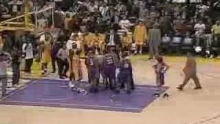 Kwame Brown Punks Boris Diaw
