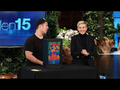 Rubik's Cube Magician Paul Vu Makes Ellen a Work of Art