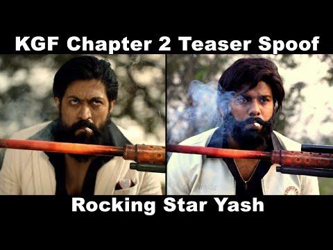 KGF Chapter 2 Teaser Spoof | Yash | Sanjay Dutt | Raveena Tandon | OYE TV