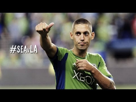 Clint Dempsey scores his first of the season