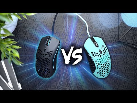 Mouse Comparison! Model O vs Finalmouse Ninja Air58