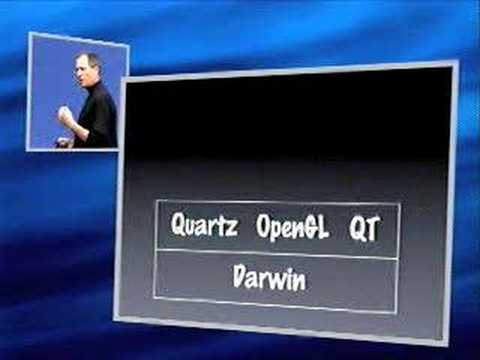 OSX - By request, here is when Steve Jobs introduced Mac OS X for the first time ever. I edited the video myself to show the very best moments of the presentation ...