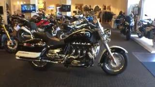 3. NEW USED INVENTORY @ Frontline Eurosports:  2013 Triumph Rocket III Touring Two-Tone