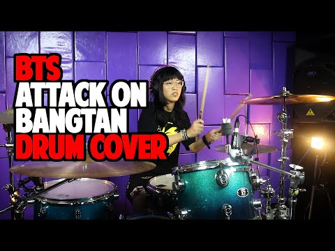 BTS - Attack on Bangtan (Drum Cover by Sadiva)