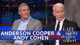 Video Andy Cohen Kept Texting Anderson Cooper During Trump's Helsinki Fiasco MP3, 3GP, MP4, WEBM, AVI, FLV Juli 2018
