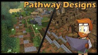6 PATHWAY & CROSSROAD Designs :: [WORLD DOWNLOAD] Minecraft Showcase Designs