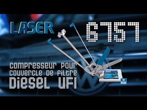Compresseur pour filtre Diesel