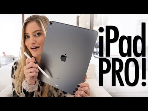NEW 2018 iPad Pro Unboxing! 12.9in Space Gray 1TB!