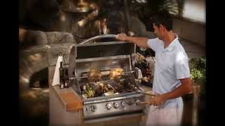 BBQ Island Oven Warmer and Pizza Oven