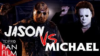 Jason Voorhees vs Michael Myers scary Halloween horror movie Short horror fan film